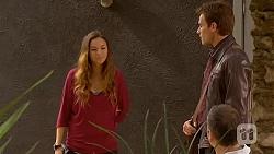 Jade Mitchell, Rhys Lawson, Karl Kennedy in Neighbours Episode 6438