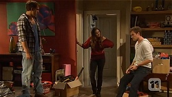 Kyle Canning, Jade Mitchell, Rhys Lawson in Neighbours Episode 6440
