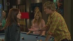 Summer Hoyland, Natasha Williams, Andrew Robinson in Neighbours Episode 6442
