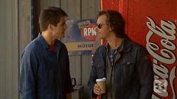 Chris Pappas, Lucas Fitzgerald in Neighbours Episode 6443