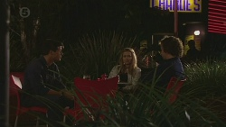 Chris Pappas, Natasha Williams, Lucas Fitzgerald in Neighbours Episode 6444