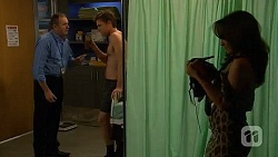 Karl Kennedy, Rhys Lawson, Vanessa Villante in Neighbours Episode 6445