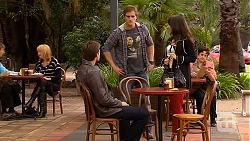 Rhys Lawson, Kyle Canning, Vanessa Villante in Neighbours Episode 6445