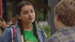 Rani Kapoor, Callum Jones in Neighbours Episode 6447
