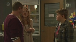 Toadie Rebecchi, Sonya Mitchell, Callum Jones in Neighbours Episode 6447