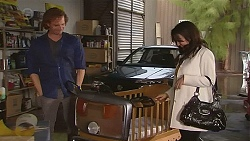 Lucas Fitzgerald, Vanessa Villante in Neighbours Episode 6447