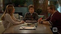 Sonya Mitchell, Callum Jones, Toadie Rebecchi in Neighbours Episode 6448