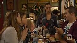 Sonya Mitchell, Callum Jones, Jade Mitchell, Toadie Rebecchi in Neighbours Episode 6448