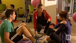 Chris Pappas, Jade Mitchell, Summer Hoyland in Neighbours Episode 6449