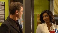 Paul Robinson, Priya Kapoor in Neighbours Episode 6451