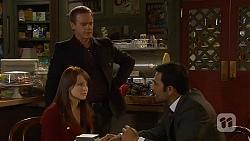 Summer Hoyland, Paul Robinson, Ajay Kapoor in Neighbours Episode 6451