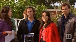 Kate Ramsay, Lucas Fitzgerald, Vanessa Villante, Rhys Lawson in Neighbours Episode 6451