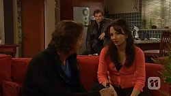 Lucas Fitzgerald, Rhys Lawson, Vanessa Villante in Neighbours Episode 6452