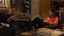 Rhys Lawson, Vanessa Villante in Neighbours Episode 6452