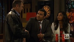 Karl Kennedy, Ajay Kapoor, Priya Kapoor in Neighbours Episode 6452