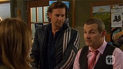 Sonya Mitchell, Lucas Fitzgerald, Toadie Rebecchi in Neighbours Episode 6453