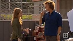 Sonya Mitchell, Lucas Fitzgerald in Neighbours Episode 6453