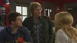 Chris Pappas, Andrew Robinson, Natasha Williams in Neighbours Episode 6454