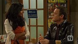 Priya Kapoor, Paul Robinson in Neighbours Episode 6455