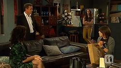 Zoe Alexander, Paul Robinson, Kate Ramsay, Sophie Ramsay in Neighbours Episode 6455