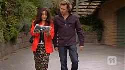 Vanessa Villante, Lucas Fitzgerald in Neighbours Episode 6456