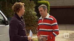 Lucas Fitzgerald, Karl Kennedy in Neighbours Episode 6456