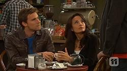 Rhys Lawson, Vanessa Villante in Neighbours Episode 6456