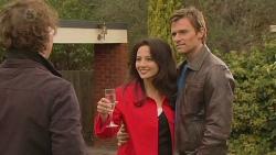 Lucas Fitzgerald, Vanessa Villante, Rhys Lawson in Neighbours Episode 6457