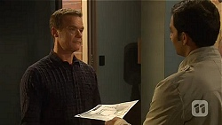 Paul Robinson, Ajay Kapoor in Neighbours Episode 6458