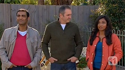 Ajay Kapoor, Karl Kennedy, Priya Kapoor in Neighbours Episode 6458