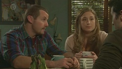 Toadie Rebecchi, Sonya Mitchell, Alex Delpy in Neighbours Episode 6459