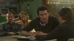 Toadie Rebecchi, Sonya Mitchell, Alex Delpy, Callum Jones in Neighbours Episode 6459