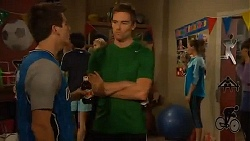 Chris Pappas, Rhys Lawson, Jade Mitchell in Neighbours Episode 6460