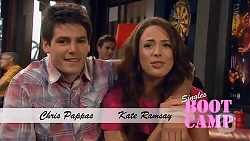 Chris Pappas, Kate Ramsay in Neighbours Episode 6460