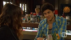 Jade Mitchell, Heath Pryce in Neighbours Episode 6461