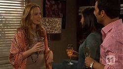 Sonya Mitchell, Priya Kapoor, Ajay Kapoor in Neighbours Episode 6463