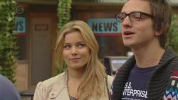 Natasha Williams, Ed Lee in Neighbours Episode 6464