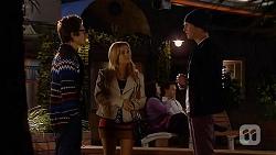 Ed Lee, Natasha Williams, Andrew Robinson in Neighbours Episode 6465
