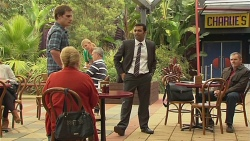 Kyle Canning, Sheila Canning, Ajay Kapoor, Karl Kennedy in Neighbours Episode 6467
