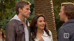 Rhys Lawson, Vanessa Villante, Lucas Fitzgerald in Neighbours Episode 6470