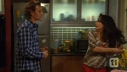Lucas Fitzgerald, Vanessa Villante in Neighbours Episode 6470