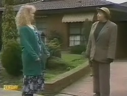 Sharon Davies, Edith Chubb in Neighbours Episode 0803