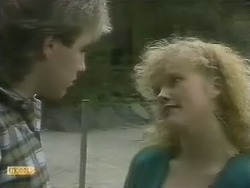 Nick Page, Sharon Davies in Neighbours Episode 0803