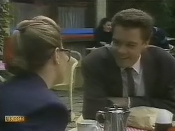 Penelope Porter, Paul Robinson in Neighbours Episode 0804