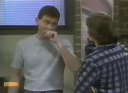 Des Clarke, Mike Young in Neighbours Episode 0805