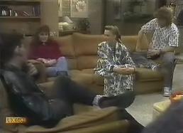Brad Fuller, Jackie Vidor, Bronwyn Davies, Henry Ramsay in Neighbours Episode 0805