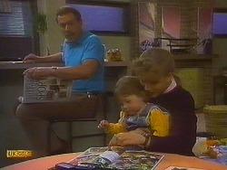 Malcolm Clarke, Jamie Clarke, Bronwyn Davies in Neighbours Episode 0847