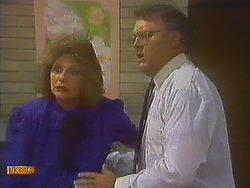 Madge Bishop, Harold Bishop in Neighbours Episode 0847