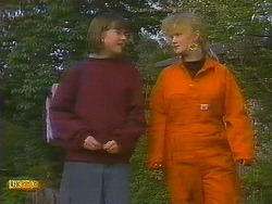 Jessie Ross, Sharon Davies in Neighbours Episode 0848