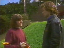 Jessie Ross, Mike Young in Neighbours Episode 0848